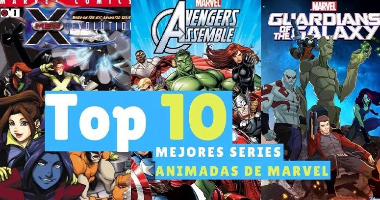 Las 10 Mejores Series Animadas de Marvel Comics