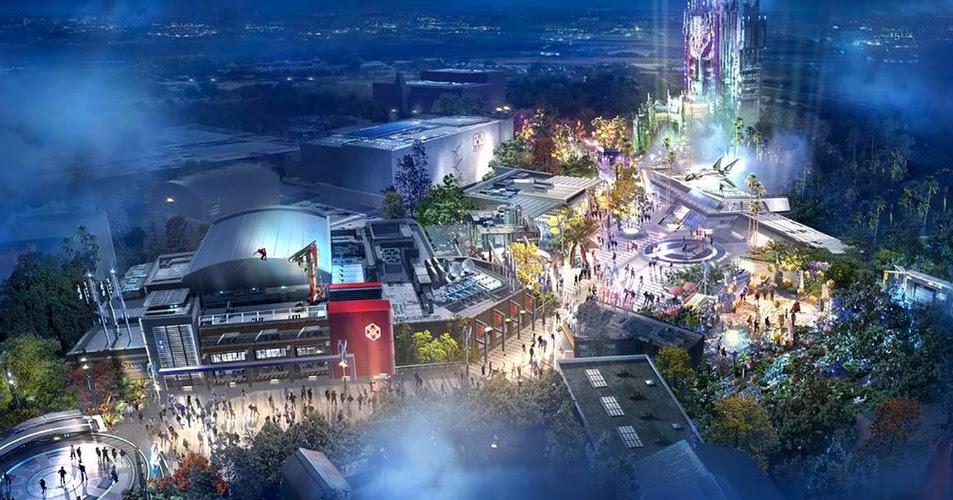 Campus de los Vengadores: La atracción Marvel de Disneylandia