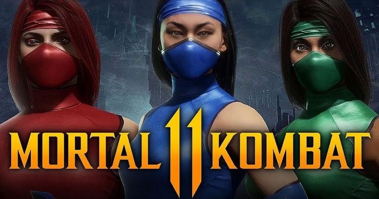MK11 introduce skins clásicos para personajes femeninos