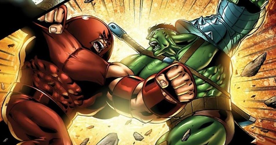 Hulk vs Juggernaut: ¿Quién es el más fuerte de Marvel, de verdad?