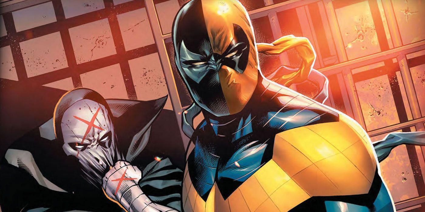 DC presenta una nueva versión de Nightwing y lleva la máscara de Deathstroke