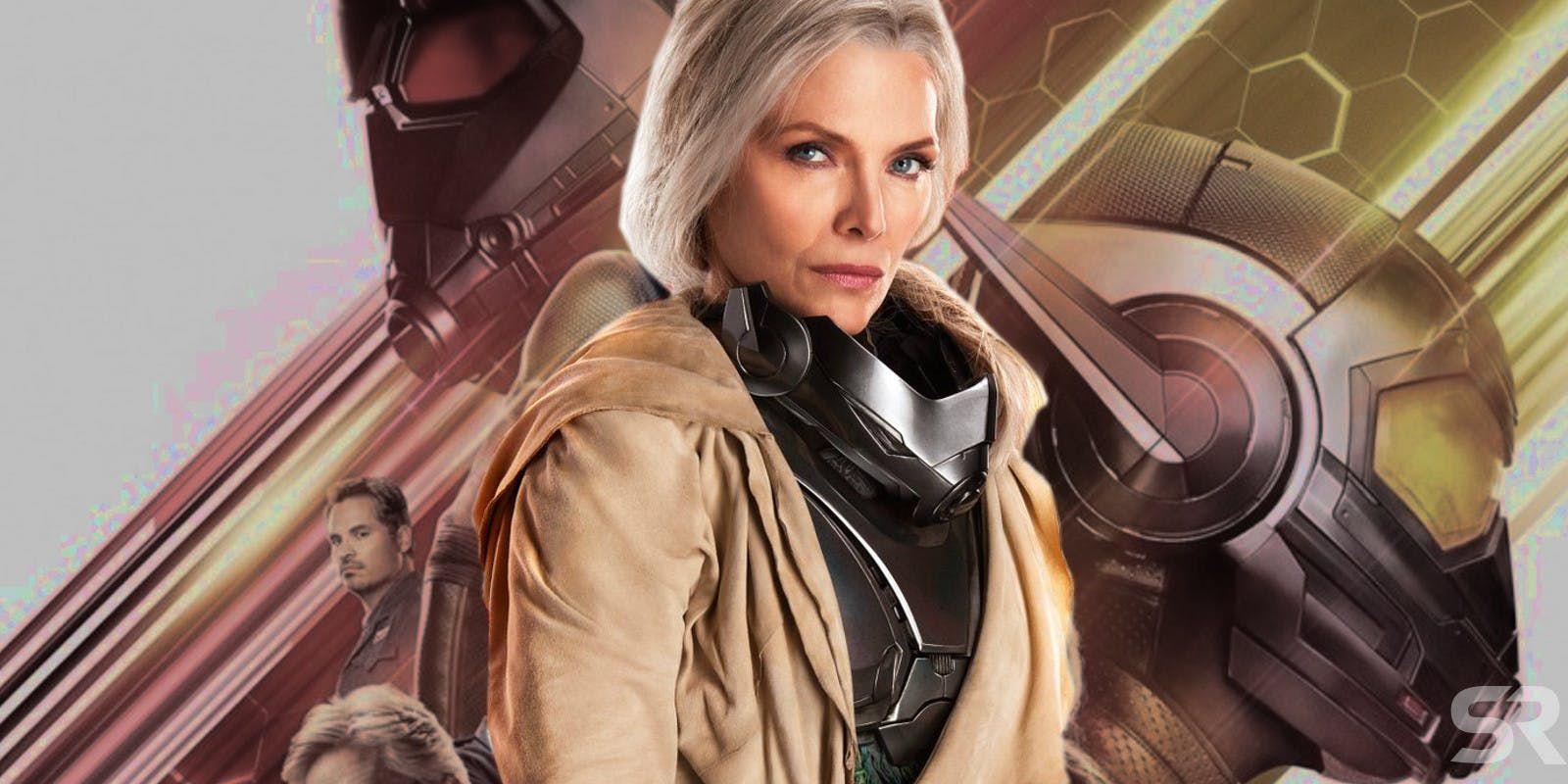 Michelle Pfeiffer de Quantumania confirma su lanzamiento en 2022
