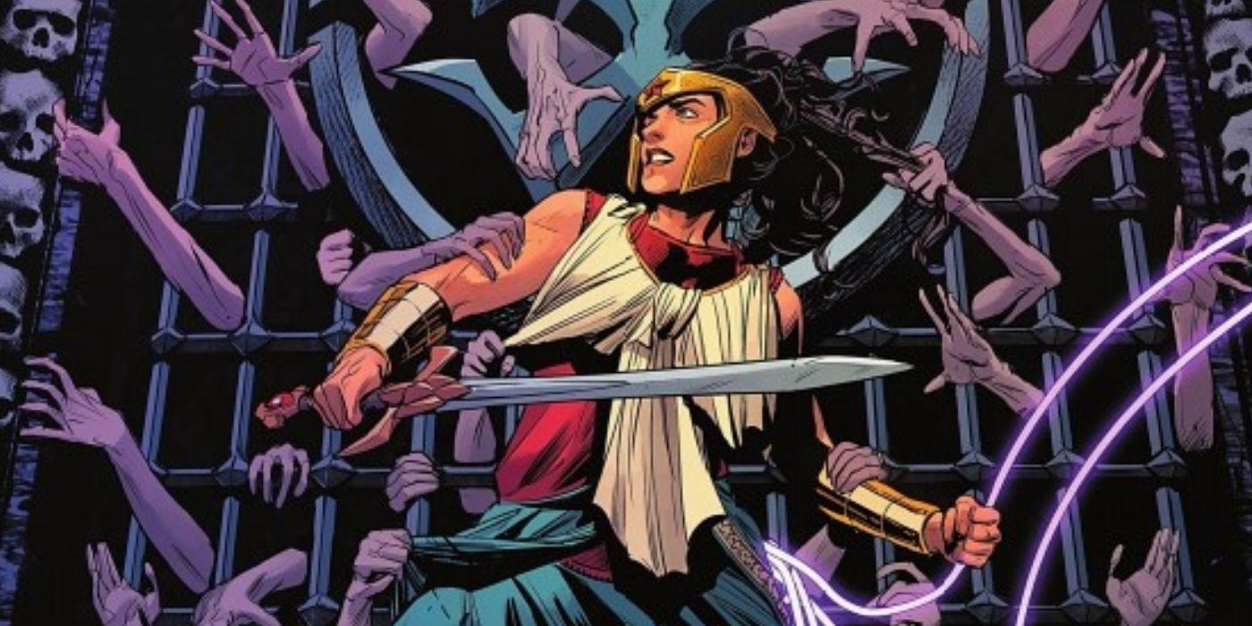 Wonder Woman acaba de salvar a los dioses de DC y condenó a uno por la eternidad
