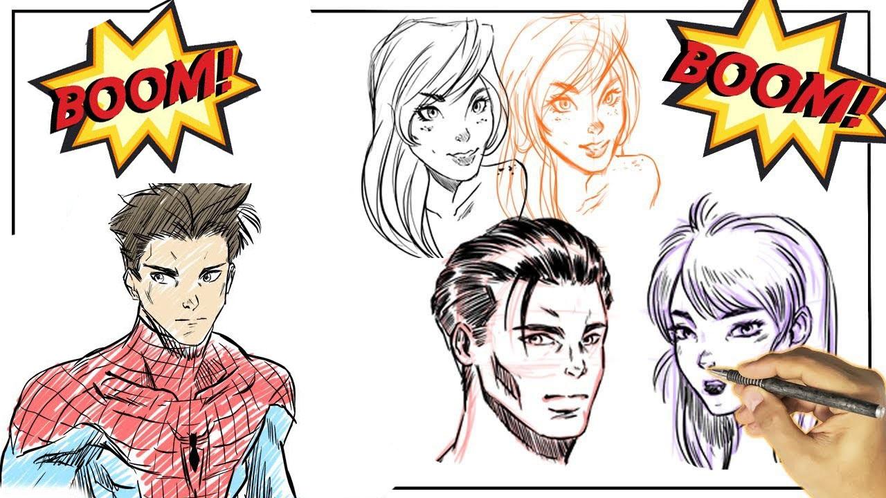 Aprende a dibujar comics