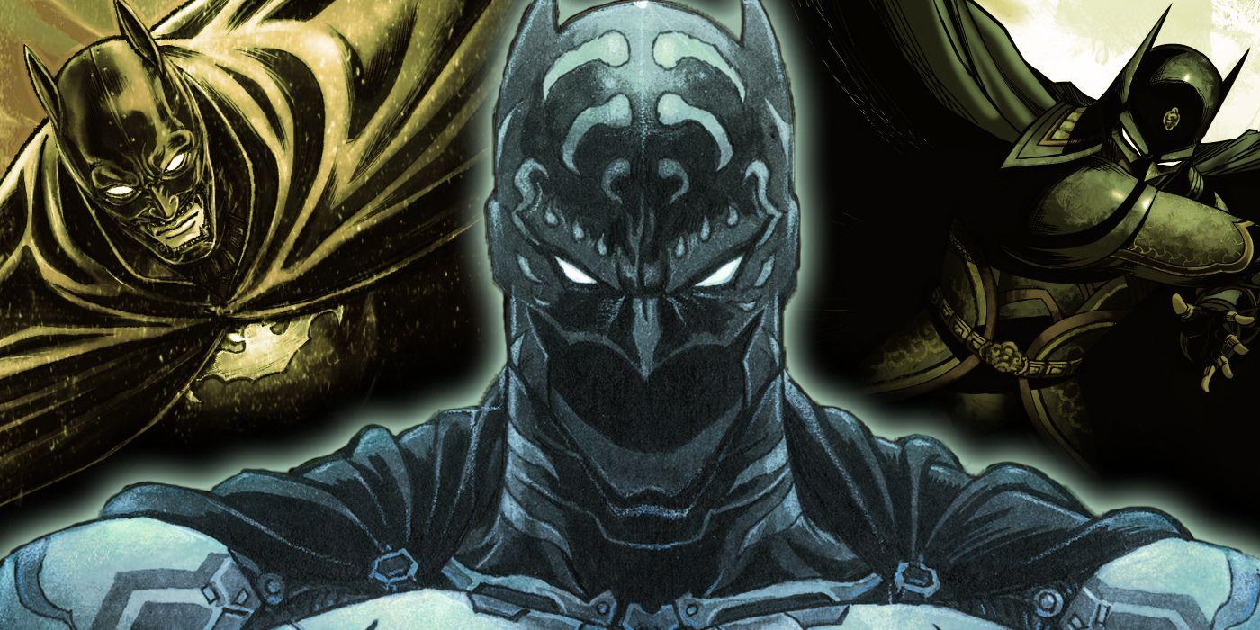 El mundo presenta varios trajes nuevos para el caballero oscuro