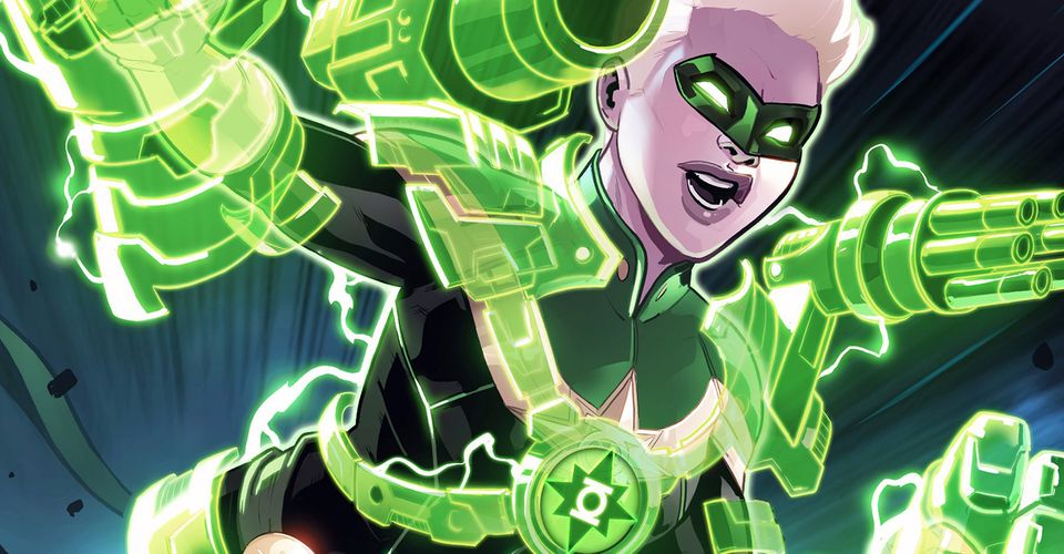 Capitana Marvel Se Convierte En Linterna Verde En El Cruce De Dc Marvel
