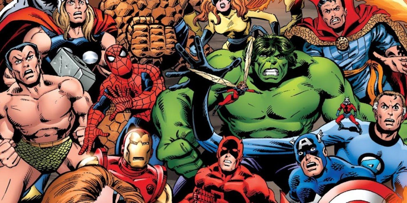 El primer concurso de campeones de Marvel fue su guerra civil original