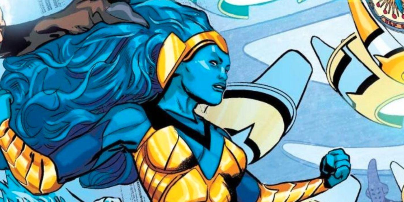 La Liga de la Justicia trae a la Tierra a un héroe daxamita de nivel Superman