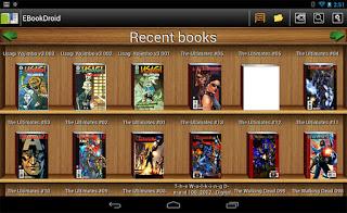 EBookDroid app leer comics en android