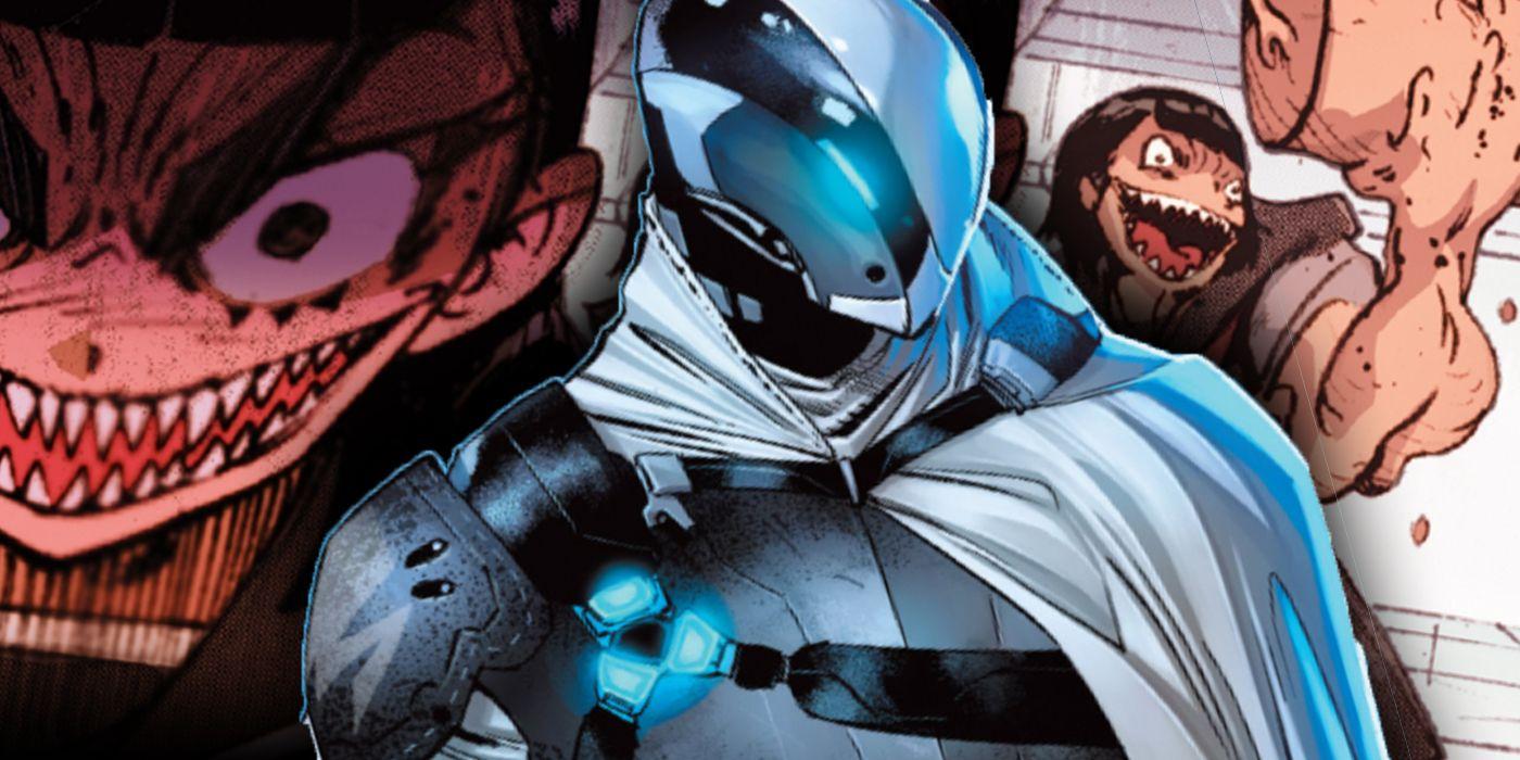 El socio más nuevo de Batman está luchando contra un Yakuza Astro Boy