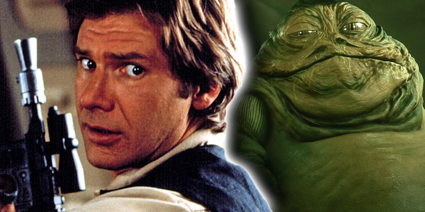 Cómo Jabba the Hutt demostró que odia a Han Solo más que al Imperio