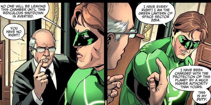 Injustice- Green Lantern Congress