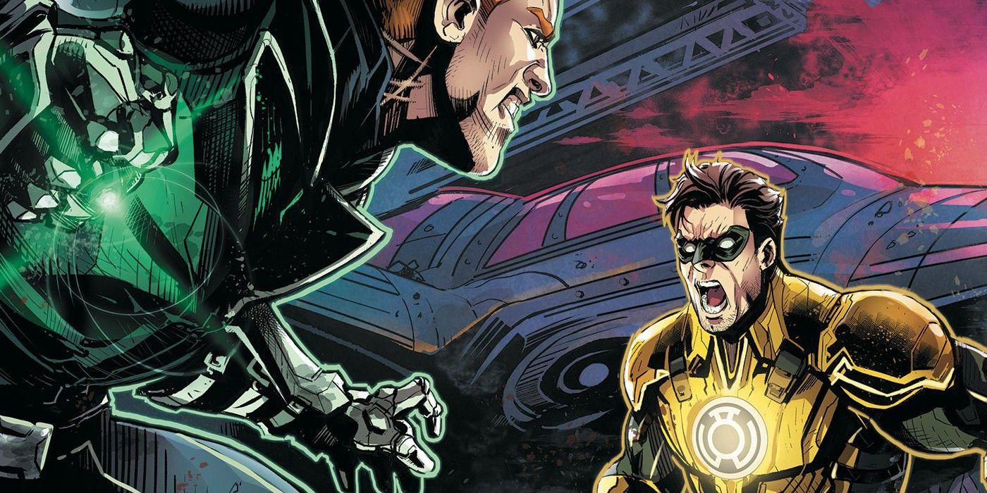 Injustice: cómo Hal Jordan se convirtió en una linterna amarilla