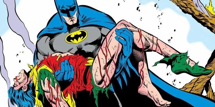 Batman revela lo que el Guasón de la serie animada le hizo a Jason Todd