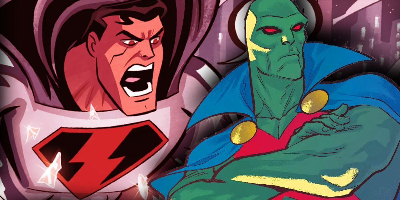 Por qué Martian Manhunter aterroriza a su nuevo enemigo de DCAU