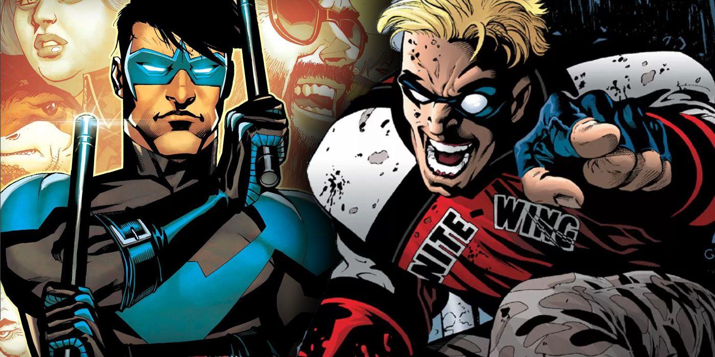 Cómo Dick Grayson no pudo enseñar al peor compañero de DC, Nite-Wing