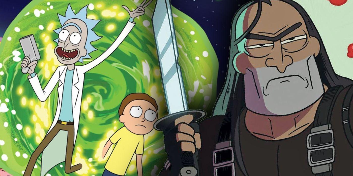 Rick y Morty le dan al Jaguar exactamente lo que quiere