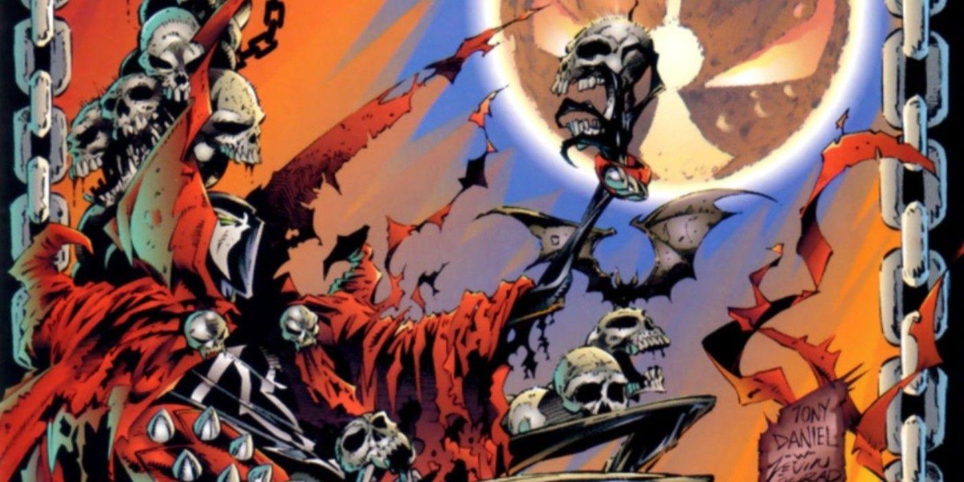 Spawn: Blood Feud - Cómo Alan Moore convirtió el propio disfraz de Spawn en su contra