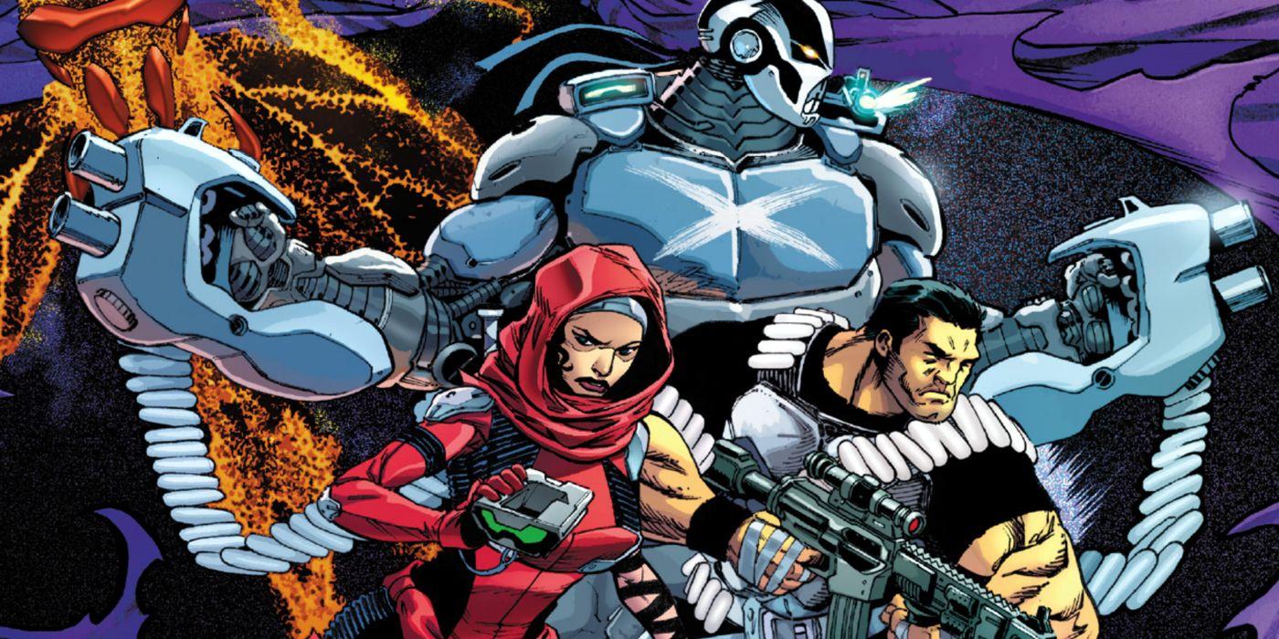 Los héroes más mortíferos de Marvel se han convertido en el escuadrón suicida de Heroes Reborn