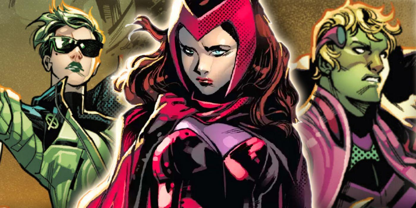 La revelación de la Bruja Escarlata de SWORD podría significar la perdición para Magneto
