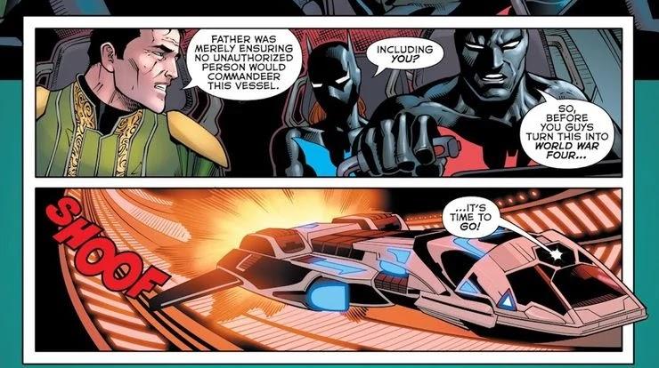 Batman Beyond: La nueva familia de murciélagos acaba de tener un momento de Star Wars