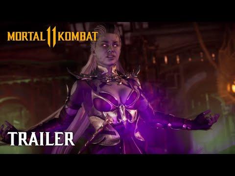 Mortal Kombat 11 presenta a Sindel Gameplay Tráiler