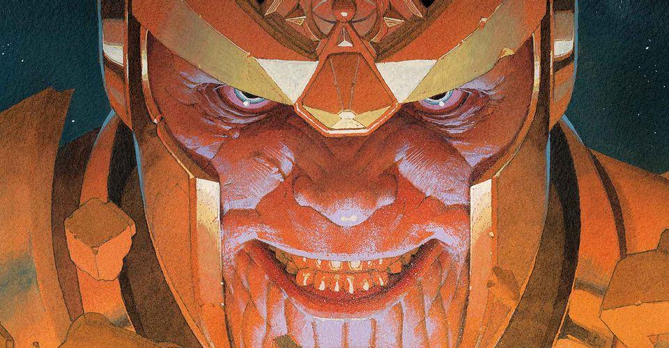 Eternos: Marvel se burla del papel principal de Thanos en el relanzamiento de Gillen y Ribić