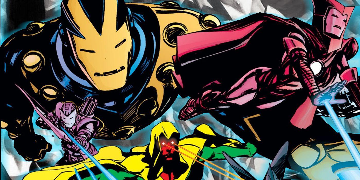 Iron Man: cómo Tony Stark reemplazó a los Vengadores con robots