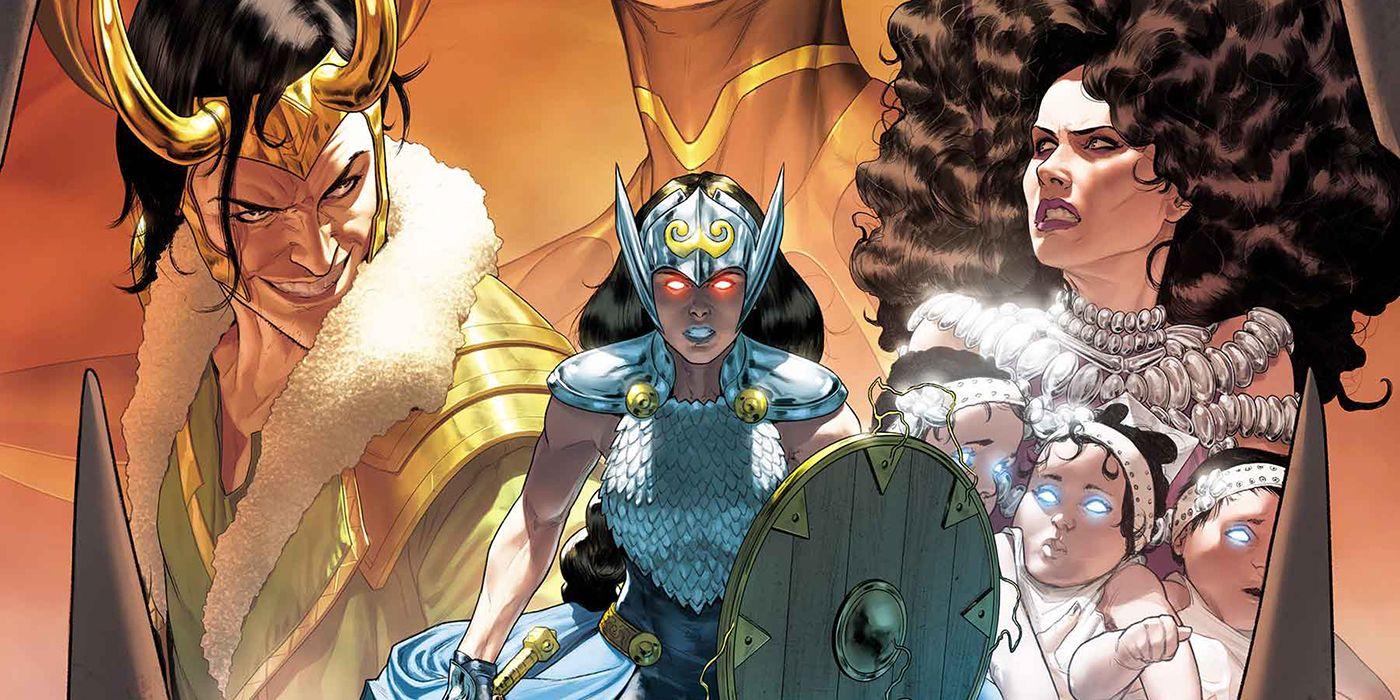 Marvel anuncia la serie de equipo de Jane Foster y Loki, Mighty Valkyries