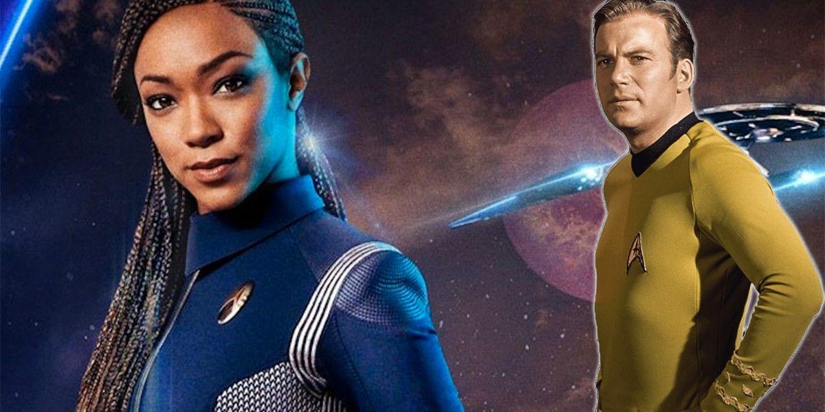 El descubrimiento demuestra que Burnham comparte la misma filosofía que el capitán Kirk