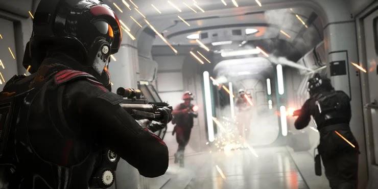 Star Wars Battlefront 2 Vuelve el nivel de Scarif de Rogue One