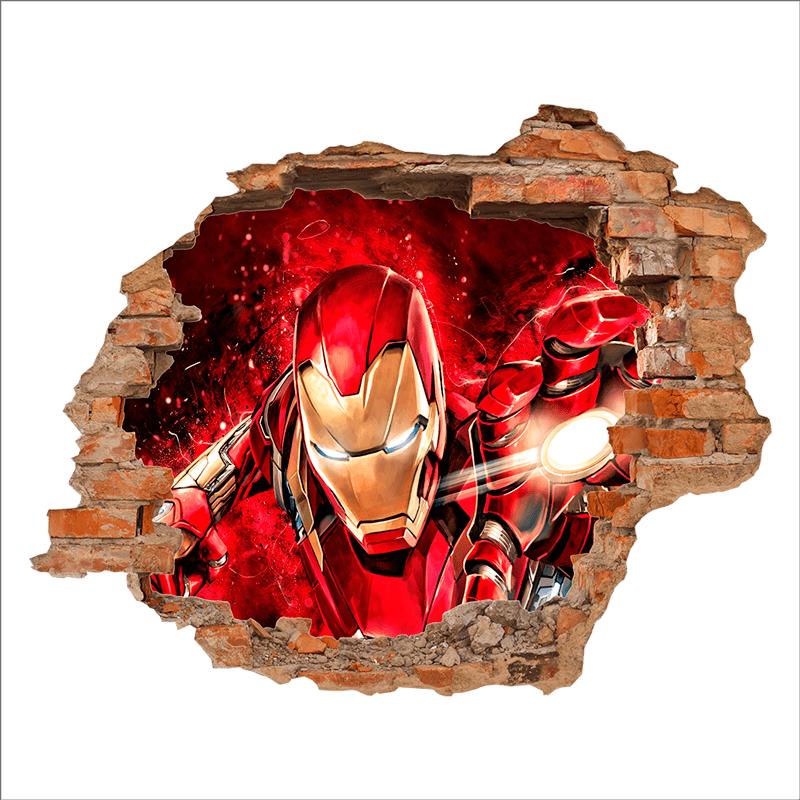 vinilo-3d-iron-man-p